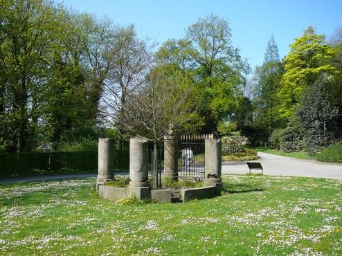 Drei-Kaiser-Denkmal in den Hardt-Anlagen