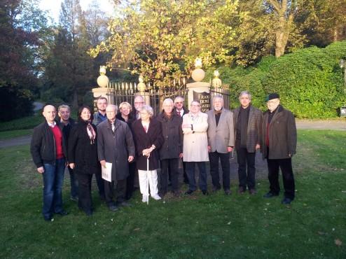 Enthüllung des Drei-Kaiser-Denkmals auf der Hardt in Wuppertal-Elberfeld
