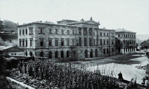 Bahnhof um 1865